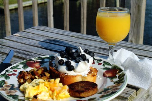 Anniv breakfast