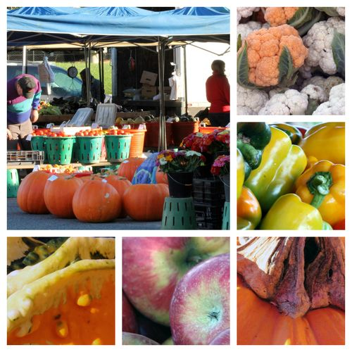 Fall Market Collage