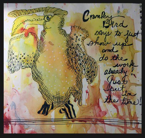 Cranky bird 001